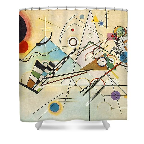 Composition Viii Shower Curtain