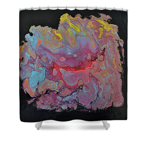 Concentrate Shower Curtain