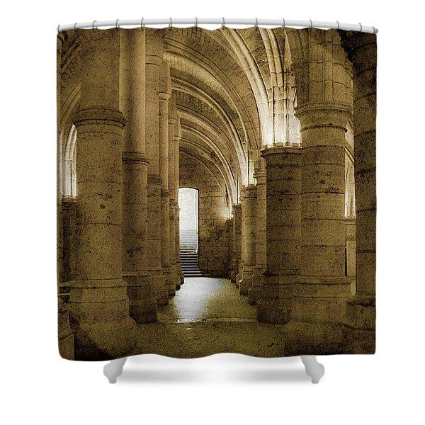 Paris, France - Conciergerie - Exit Shower Curtain