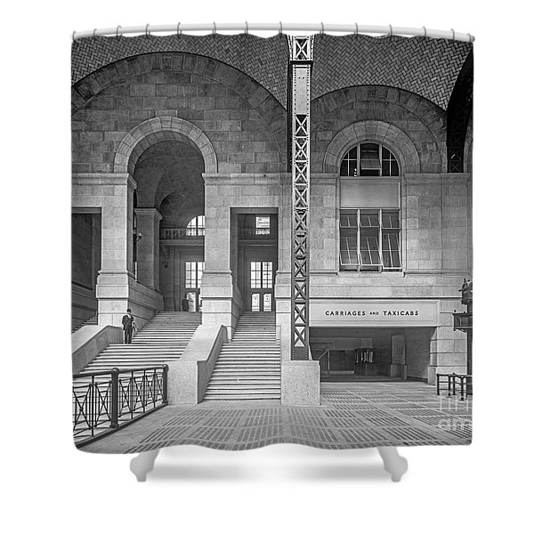 Concourse Exit To 33rd St Shower Curtain