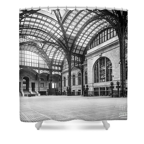 Concourse Pennsylvania Station New York Shower Curtain