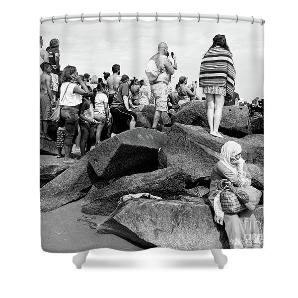 Coney Island, New York  #234972 Shower Curtain