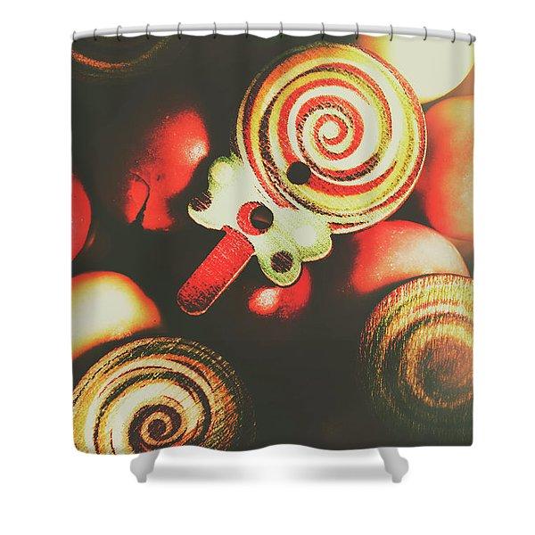 Confection Nostalgia Shower Curtain