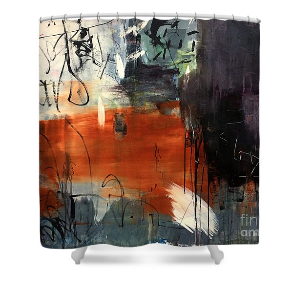 Conjuguer Shower Curtain