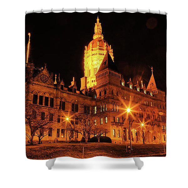 Connecticut State Capitol Shower Curtain