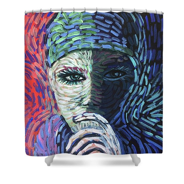 Connection Shower Curtain
