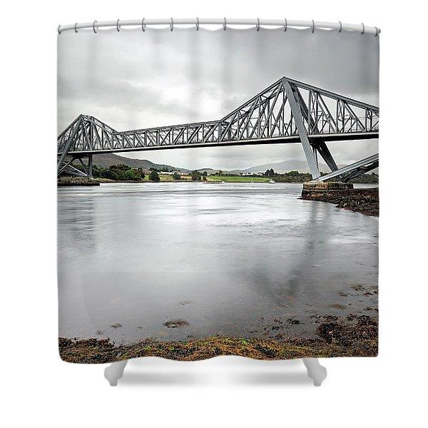Connel Bridge Shower Curtain