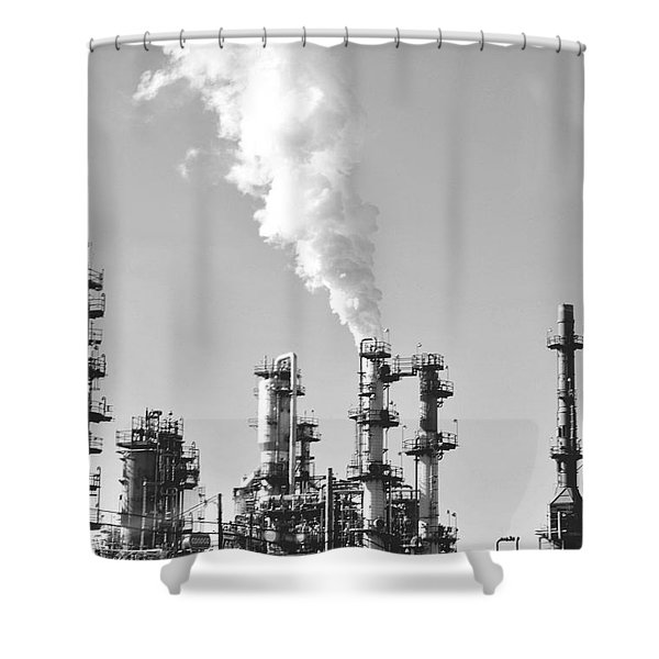 Conoco Shower Curtain