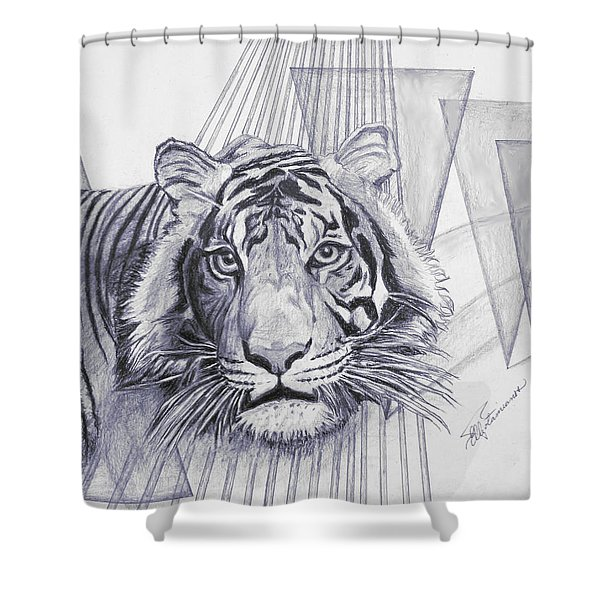 Conquest Shower Curtain