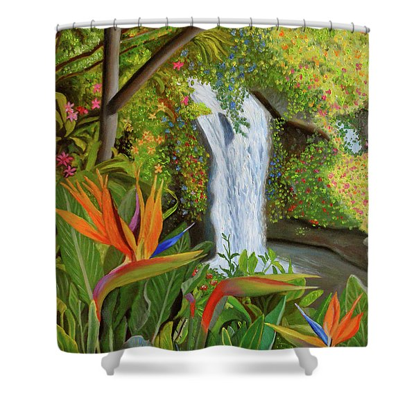 Conquest Of Paradise Shower Curtain