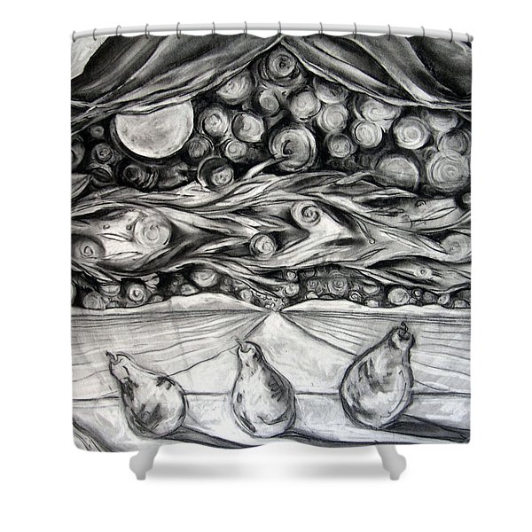 Consequence Beyond The Horizon - Study Shower Curtain