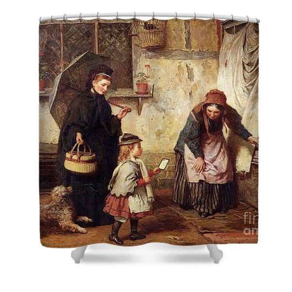 Consolation Shower Curtain