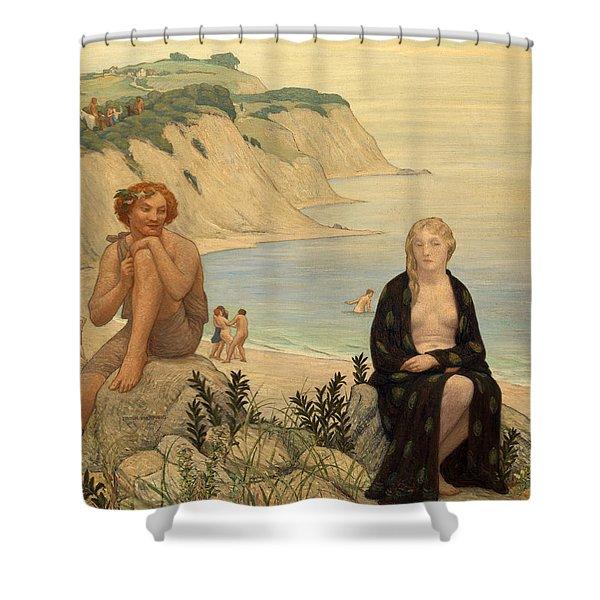 Consolation Of Ariadne Shower Curtain