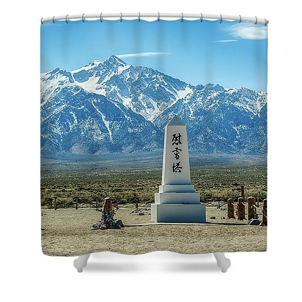 Consoling The Soul Shower Curtain