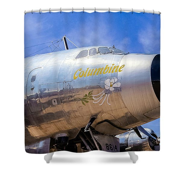 Constellation Columbine Shower Curtain