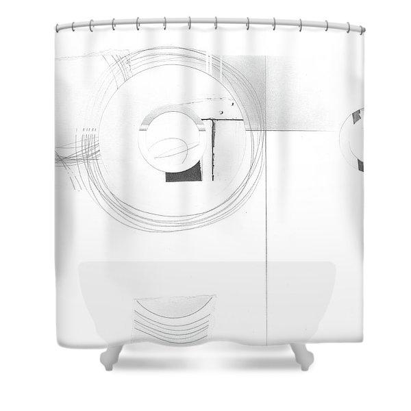 Construction No. 2 Shower Curtain