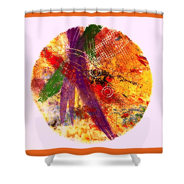 Contained Shower Curtain