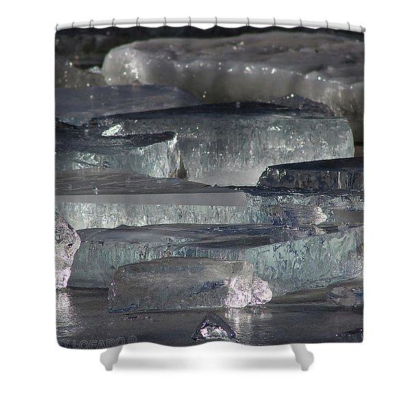 Contoocook River Jewels Shower Curtain