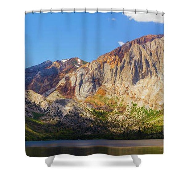 Convict Lake - Mammoth Lakes, California Shower Curtain