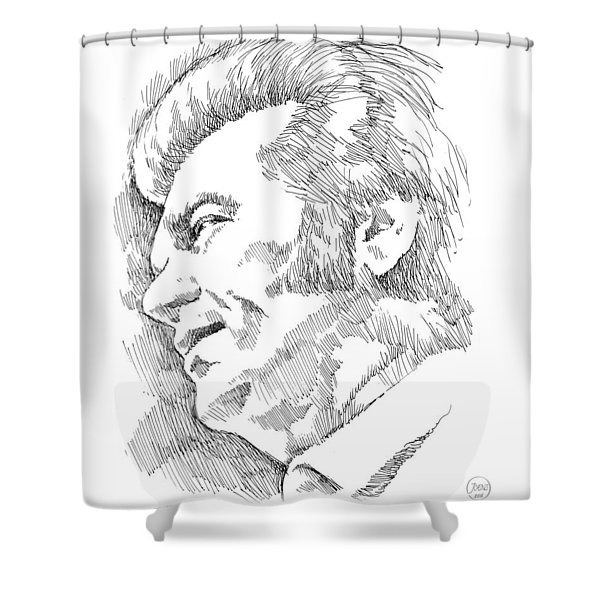 Conway Twitty Shower Curtain