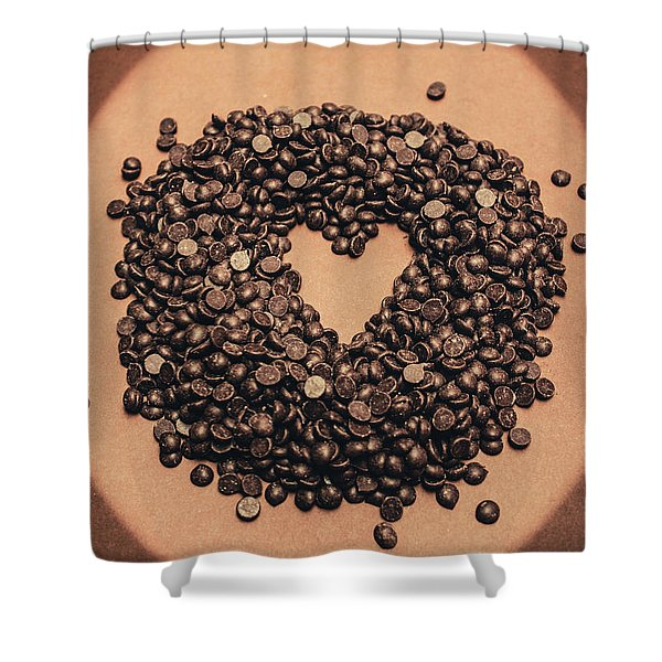 Cooking Desserts With Love  Shower Curtain