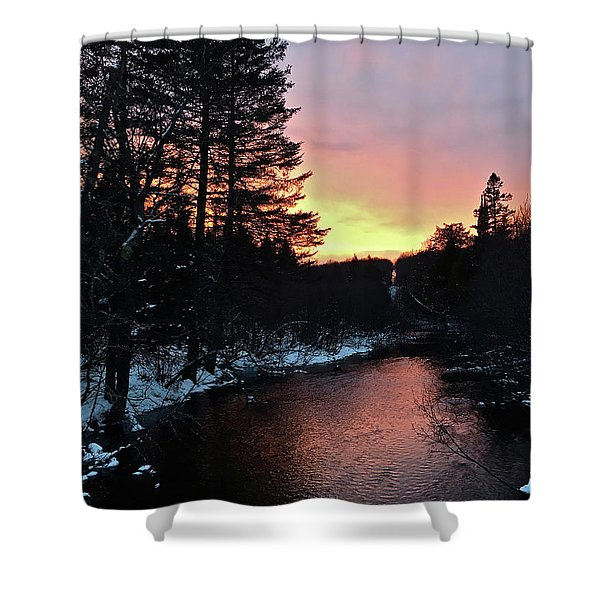 Cook's Run Shower Curtain