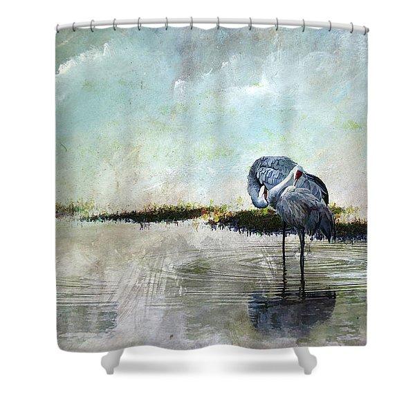 Cool Evening  Shower Curtain
