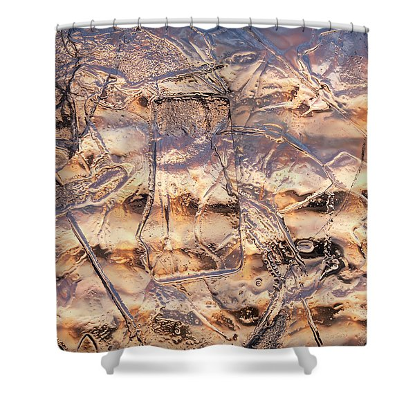 Cool Ice Shower Curtain