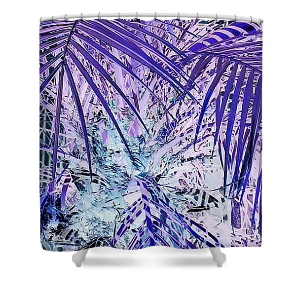 Cool Jungle Vibe Shower Curtain