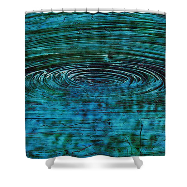 Cool Spin Shower Curtain