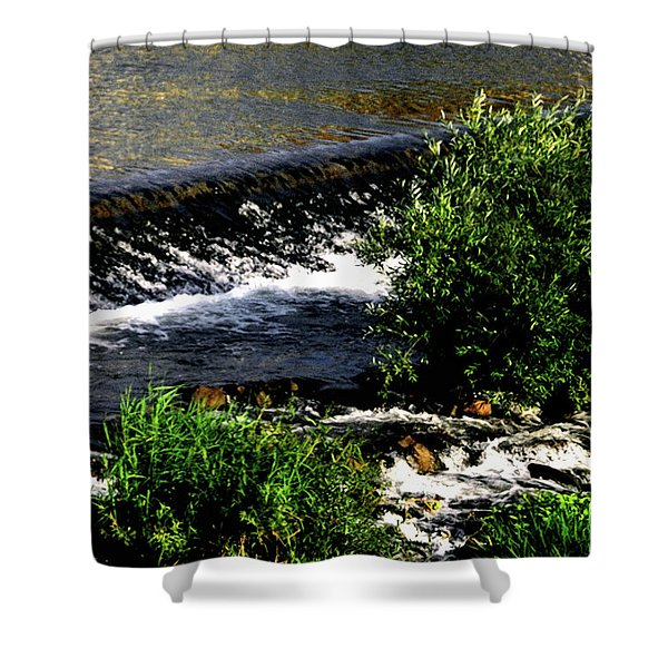 Shower Curtain featuring the photograph Cool Waters by Gerlinde Keating - Galleria GK Keating Associates Inc