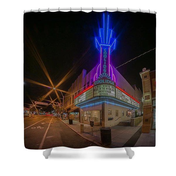 Coolidge Corner  Shower Curtain