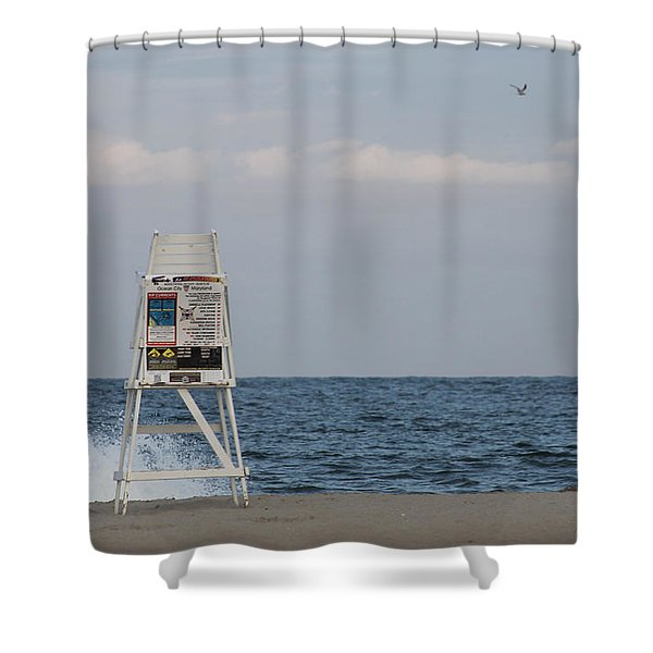 Cools Sands Shower Curtain