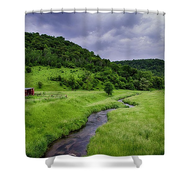 Coon Valley Shower Curtain