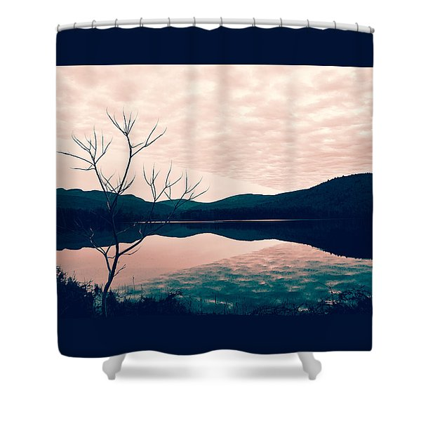 Cooper Lake Tint Shower Curtain