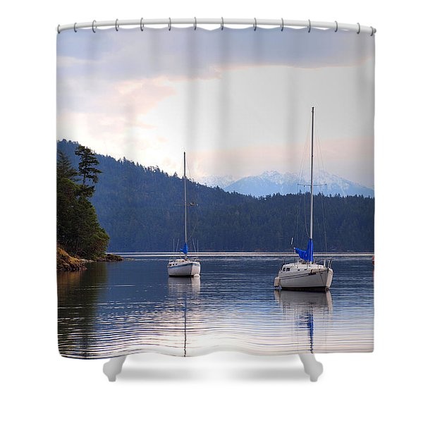 Cooper's Cove 1 Shower Curtain