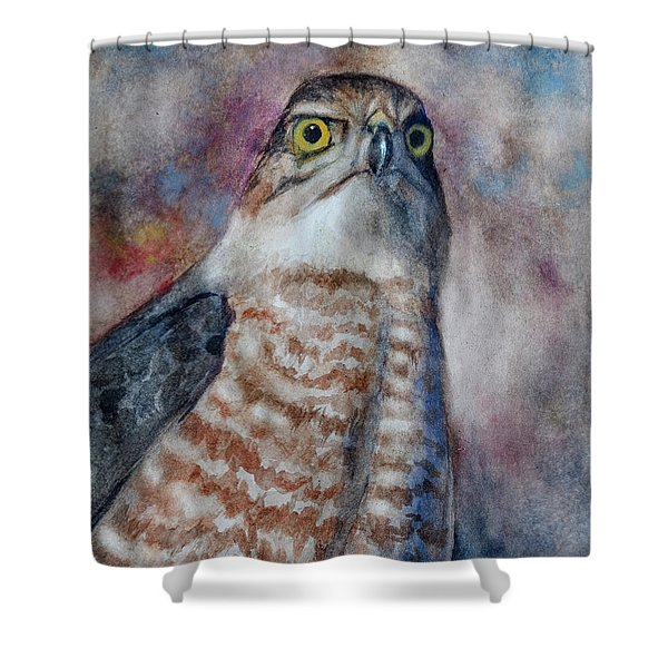 Coopers Hawk Wc Shower Curtain