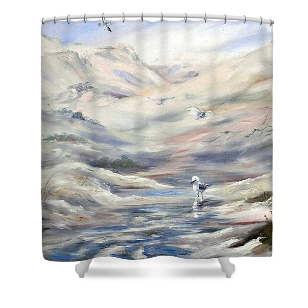 Coorong, South Australia. Shower Curtain