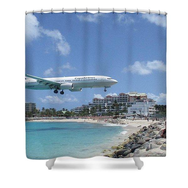 Copa 737 Princess Julianna Shower Curtain