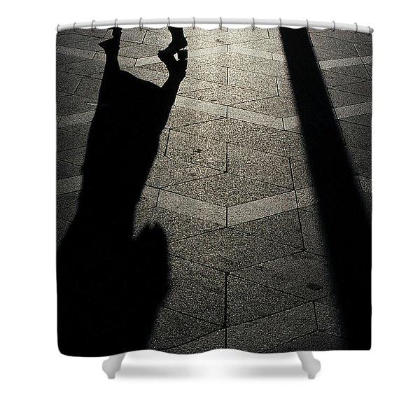 Copenhagen Lady Shower Curtain