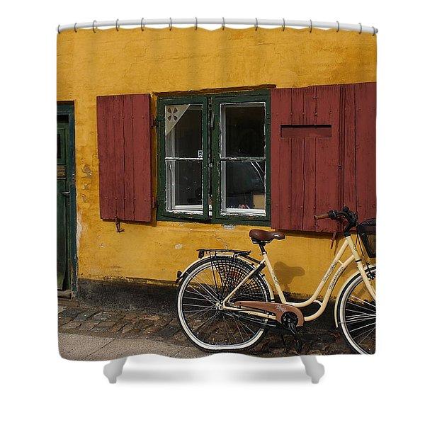 Copenhagen Still Life Shower Curtain