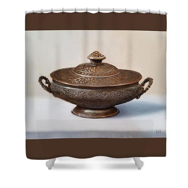 Copper Vessel Shower Curtain