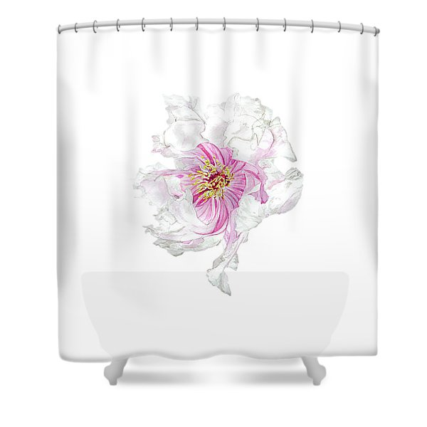 The Dancing Peony Shower Curtain