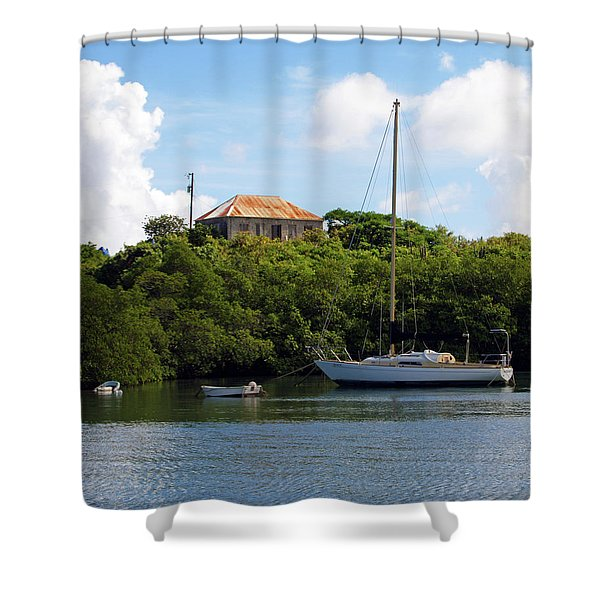 Coral Bay 1 Shower Curtain