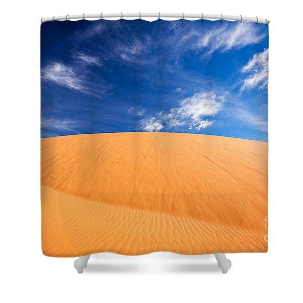 Coral Pink Sand Dunes State Park, Kanab, Utah Shower Curtain