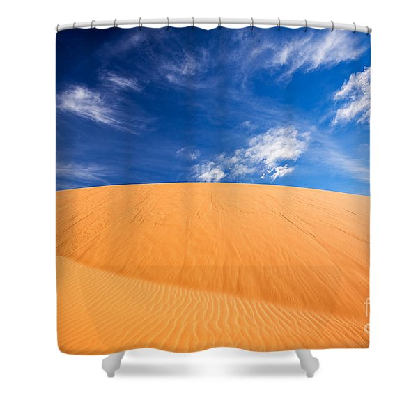 Shower Curtain featuring the photograph Coral Pink Sand Dunes State Park, Kanab, Utah by Bryan Mullennix