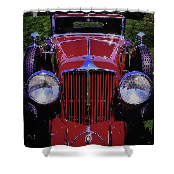 Cord Coupe Shower Curtain