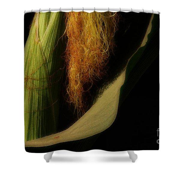 Corn Silk Shower Curtain