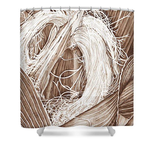 Corn Silk - Neutral Shower Curtain