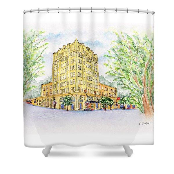 Corner Grandeur Shower Curtain